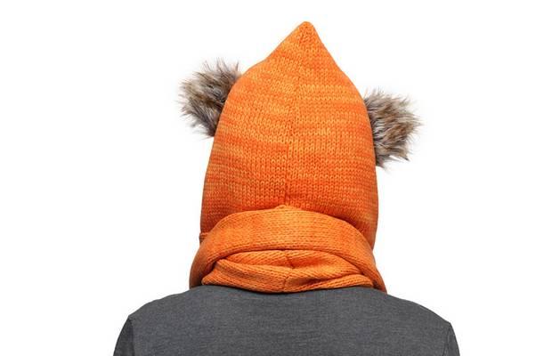 Une écharpe pour ressembler à un Ewok charpe-capuche-ewok-dos