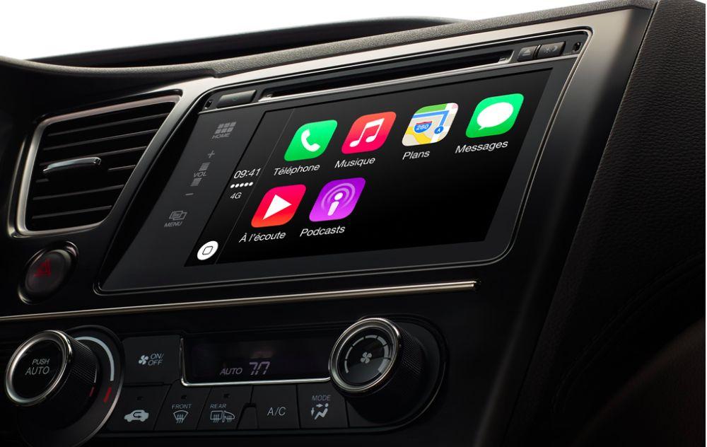Samsung se lance sur le marché des voitures autonomes Apple-Car-Play-1000x632