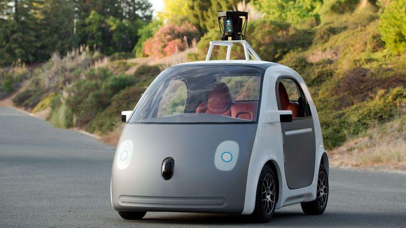 Samsung se lance sur le marché des voitures autonomes Google-car
