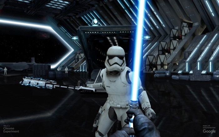 Star Wars VII : transformez votre smartphone en sabre laser ! Light-Saber