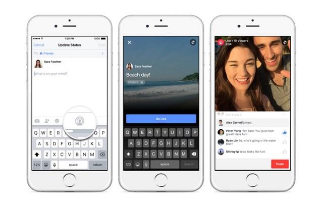 Live et Collage : deux nouvelles fonctionnalités de Facebook Live_facebook
