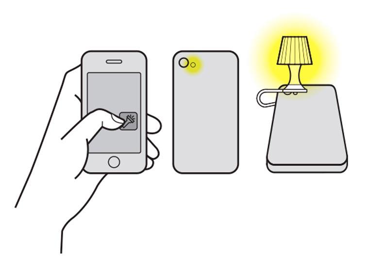 Utilisez votre smartphone comme lampe de chevet Luma-smartphone-lampshade-8