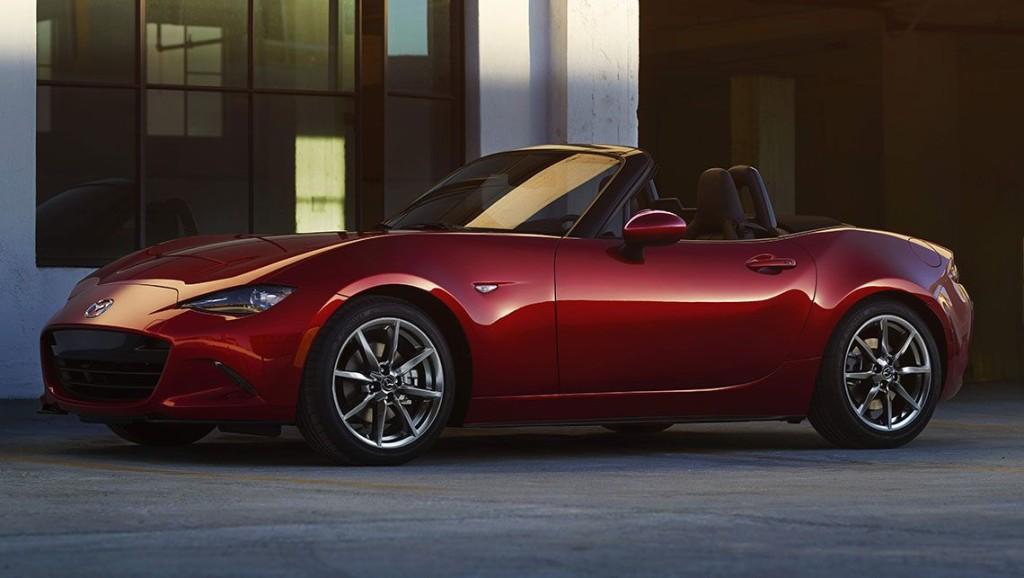Voiture de l'année 2016 : les 7 finalistes Mazda-MX5-1024x578