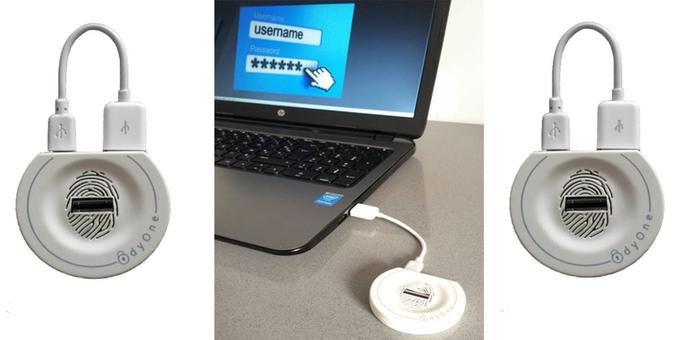 OdyOne : une clé USB biométrique qui permet de sécuriser sa vie numérique OdyOne