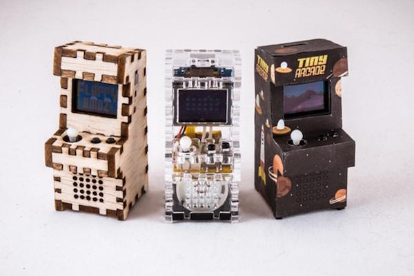 Tiny Arcade : des bornes d'arcade portables qui font la taille de votre main Retro1