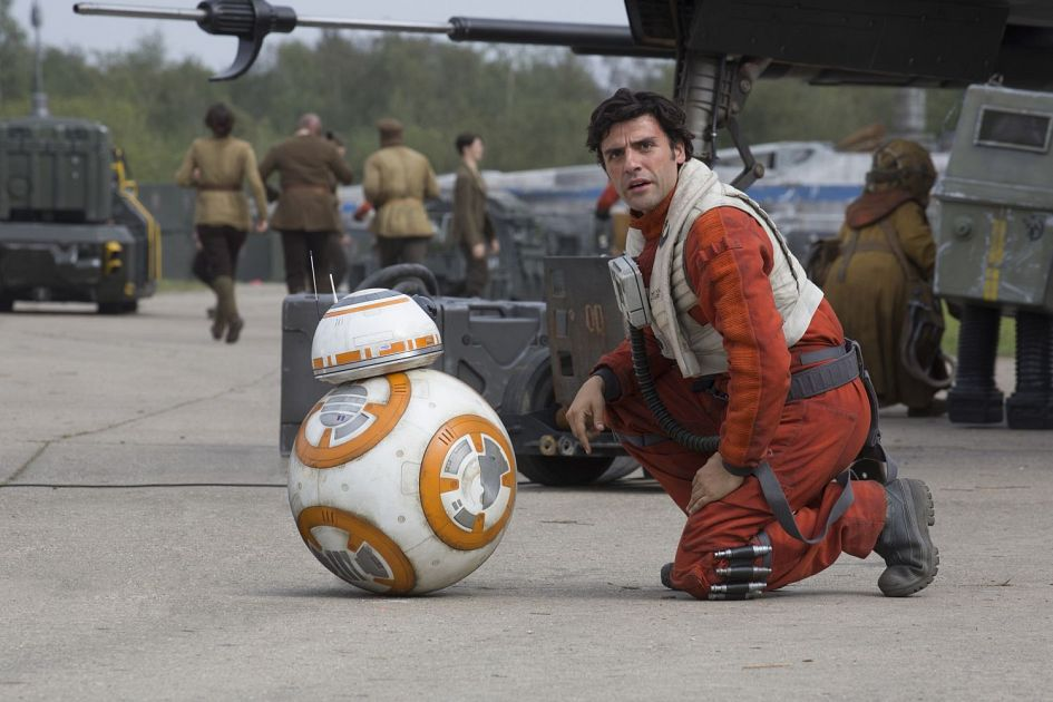 Star Wars 7 : six nouvelles images ! Star-Wars-7-BB-8-with-Poe-Dameron