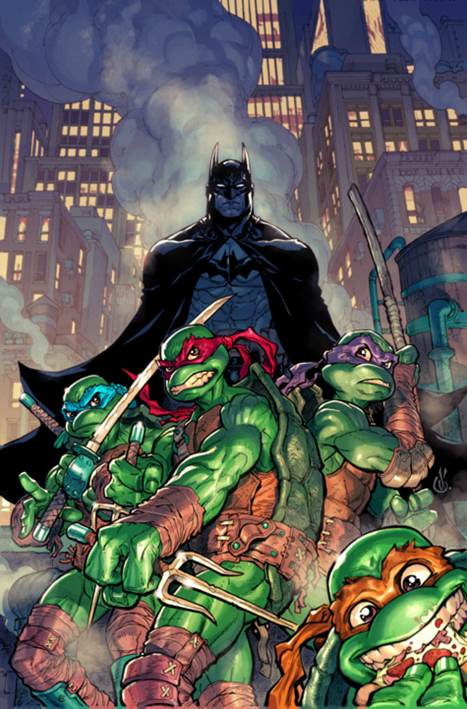 Batman vs Tortues Ninja : les premières images du crossover improbable ! TMNT2