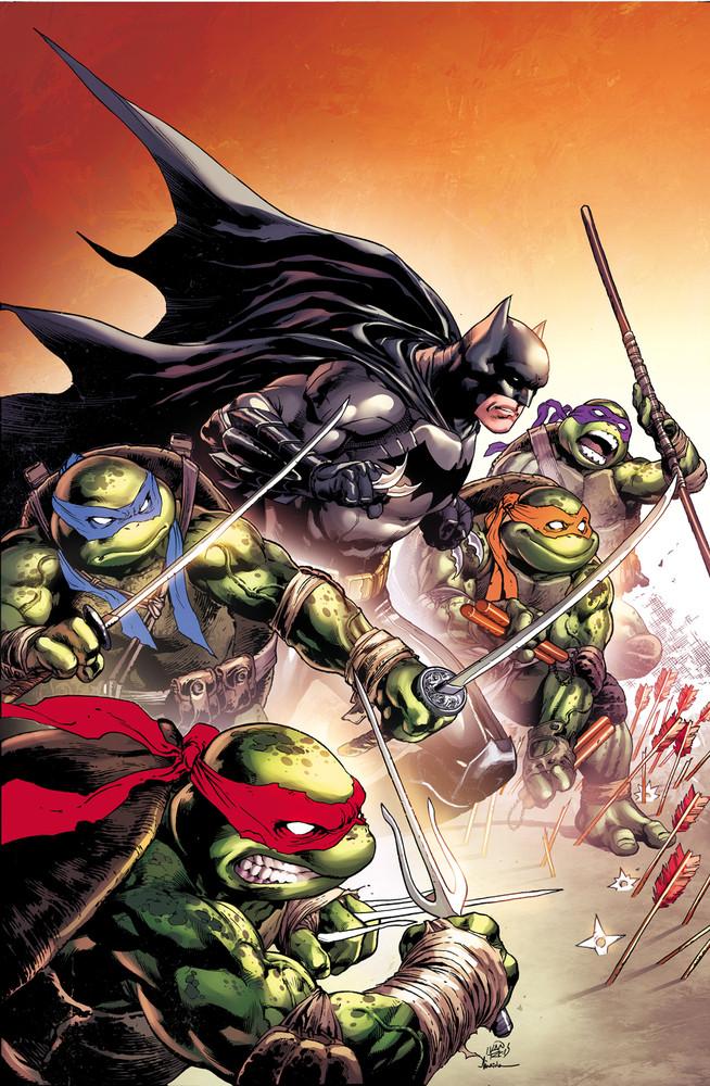 Batman vs Tortues Ninja : les premières images du crossover improbable ! TMNT4
