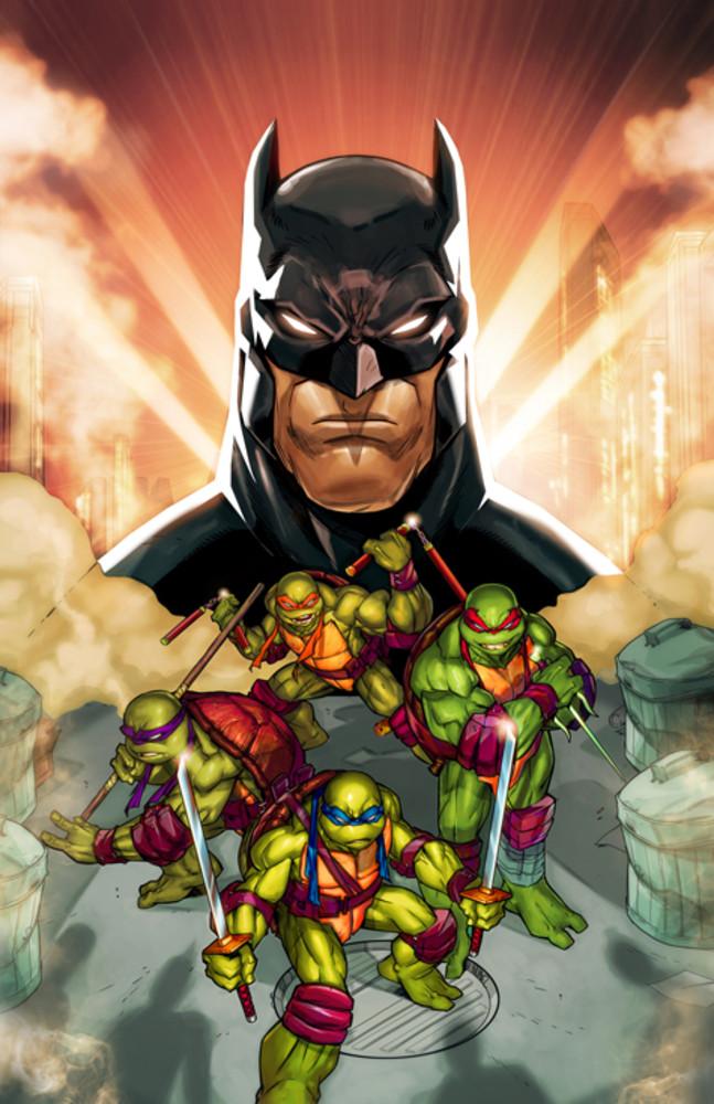 Batman vs Tortues Ninja : les premières images du crossover improbable ! TMNT5
