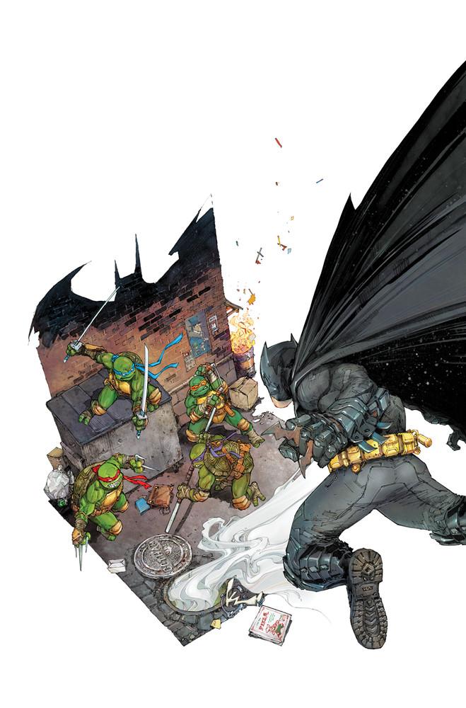 Batman vs Tortues Ninja : les premières images du crossover improbable ! TMNT7