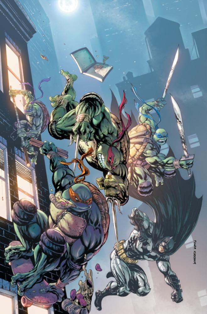 Batman vs Tortues Ninja : les premières images du crossover improbable ! TMNT9