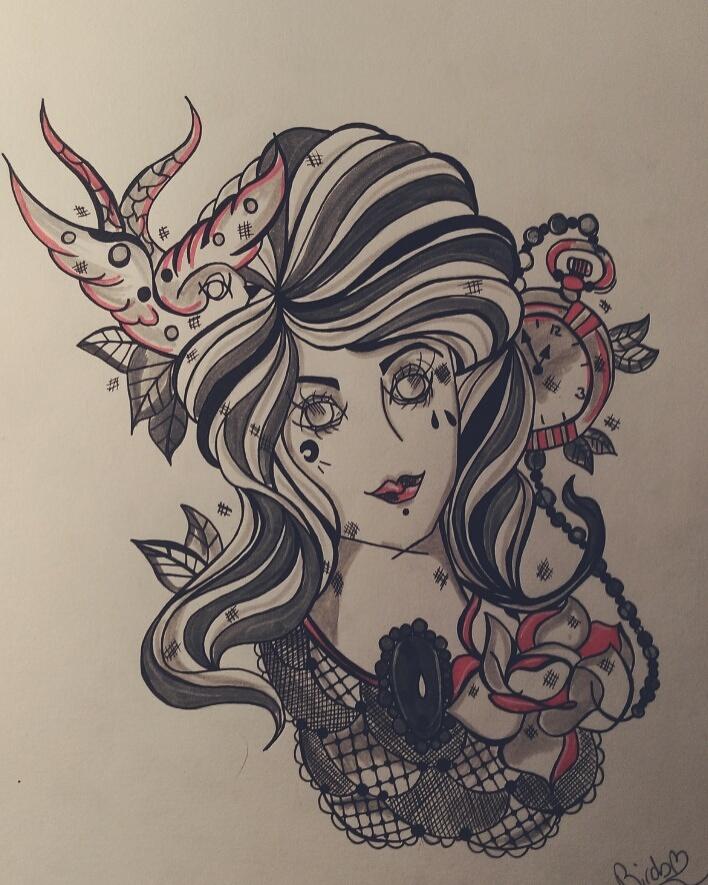 Découvrez Ana Birds, jeune tatoueuse française à l'avenir prometteur ana-birds-4