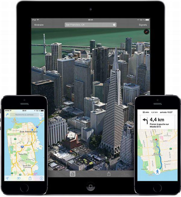 Google vs Apple : Plans est trois fois plus populaire que Google Maps sur iOS apple-plans