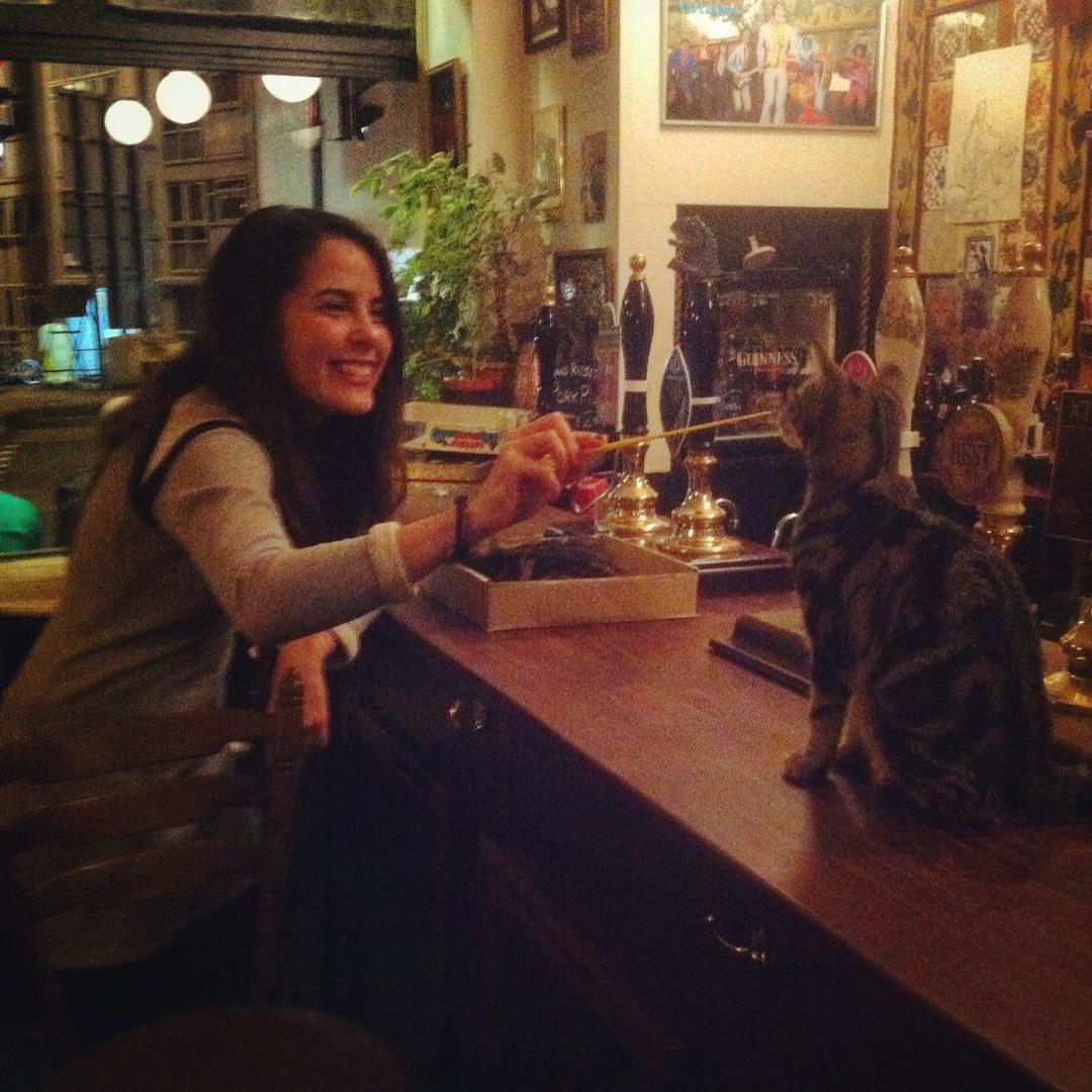 Les chats sont les rois dans ce pub en Angleterre bar-a-chat-5