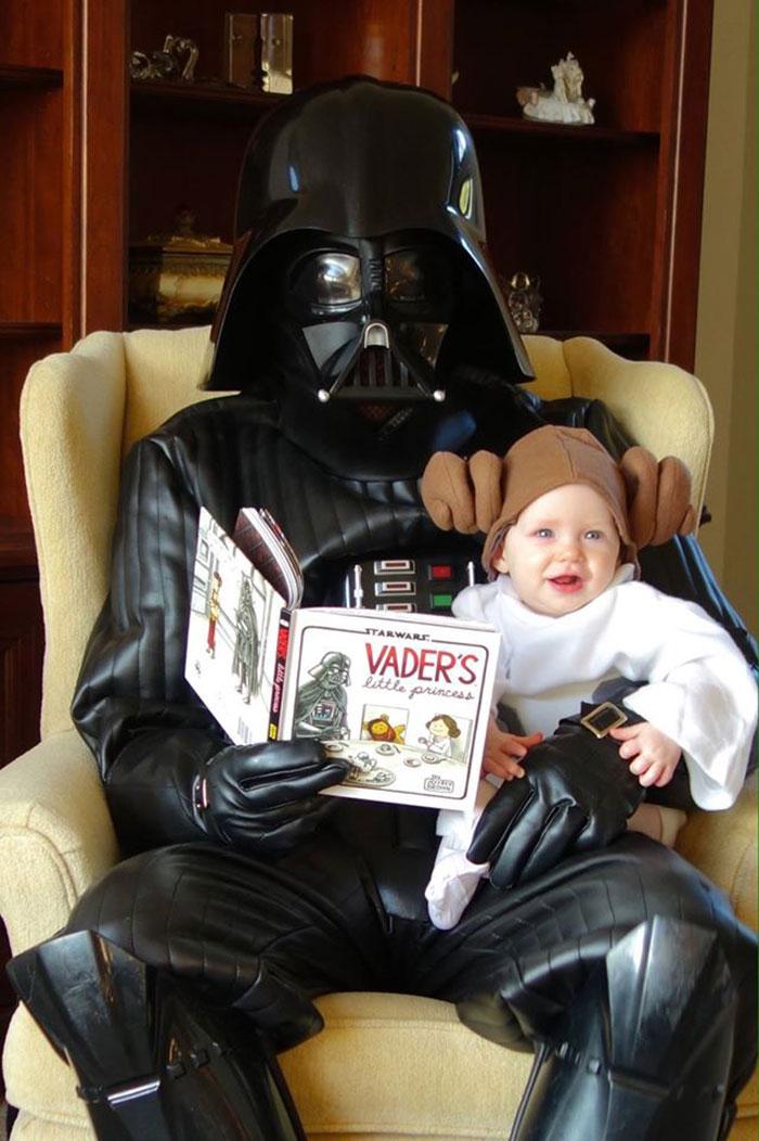 La petite fille de Mark Zuckerberg habillée comme un Jedi inspire d'autres parents bebe-habille-star-wars-11