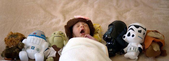La petite fille de Mark Zuckerberg habillée comme un Jedi inspire d'autres parents bebe-habille-star-wars-7