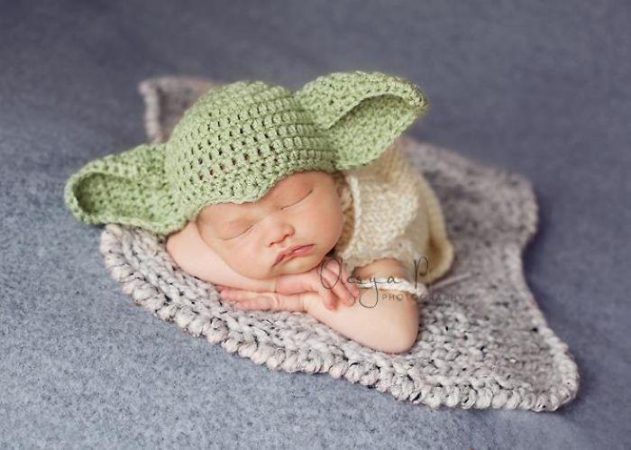 La petite fille de Mark Zuckerberg habillée comme un Jedi inspire d'autres parents bebe-habille-star-wars-9