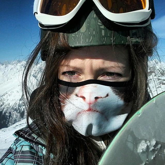 Transformez-vous en félin avec ces cagoules de ski originales cagoule-animaux-ski-8