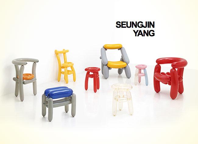 Un designer coréen crée des chaises en ballons de baudruche chaise-ballon-seungjin-yang-2