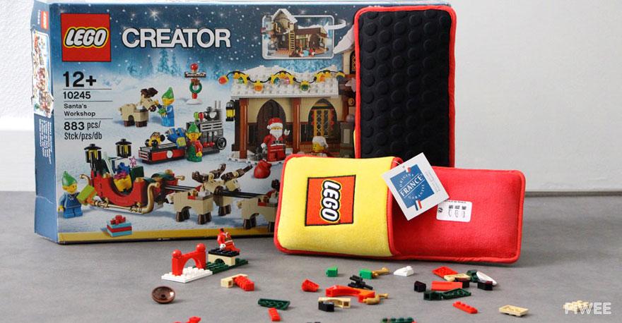 Des chaussons pour ne plus marcher sur les briques LEGO chausson-lego-1
