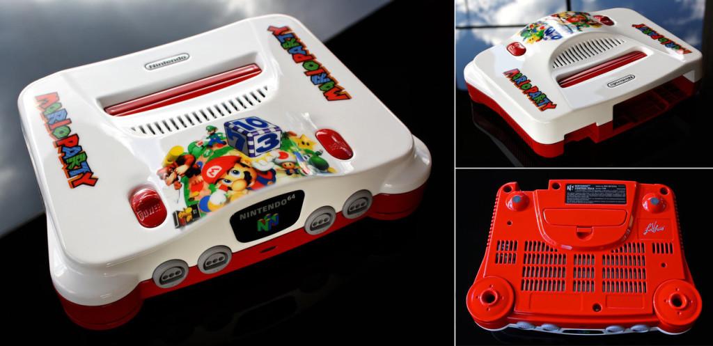 Un artiste customise les consoles de notre enfance custom_console6-1024x497