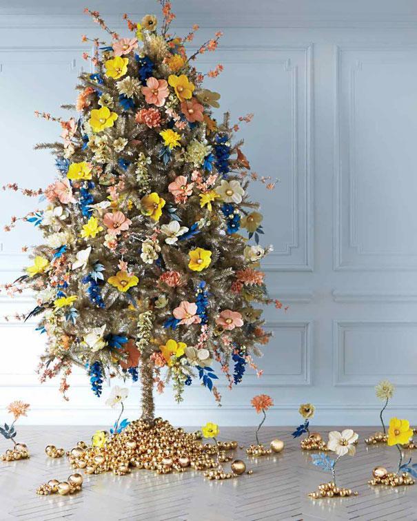 Décorez votre sapin de Noël avec des fleurs decorer-votre-sapin-avec-des-fleurs-3