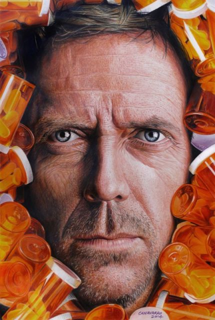 Magnifique portrait de Morgan Freeman par l'artiste Nestor Canavarro dessinscelebrites1