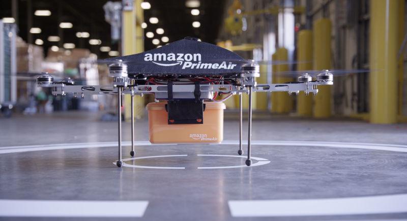 Amazon dévoile son nouveau drone de livraison drone_amazon