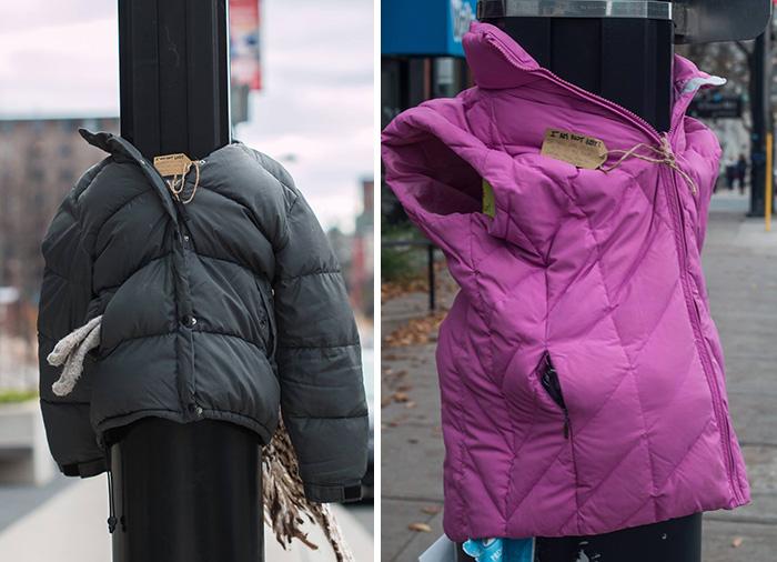 Incroyable générosité de la part de ces enfants canadiens pour aider les S.D.F. enfants-canada-manteau-sans-abris-6