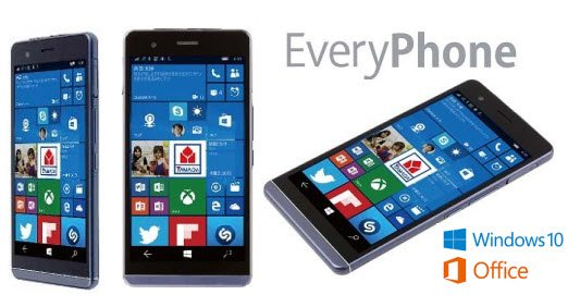 EveryPhone : un smartphone ultra fin tournant sous windows 10 every_phone1