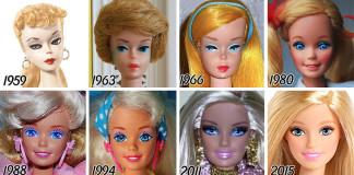Chaki : l'actualité traitée avec bonne humeur, soyons positifs ! evolution-poupee-barbie-56-ans-7-324x160