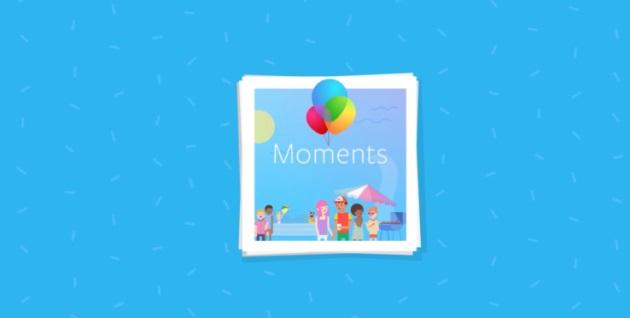"""Facebook fait (aussi) du forcing pour imposer son application """"Moments"""" facebook-moments"""