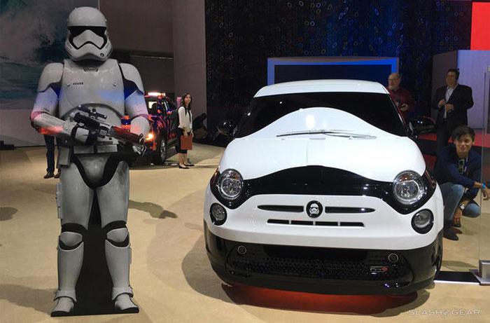 Une Fiat 500 en hommage à la saga Star Wars fiat-500-star-wars-1