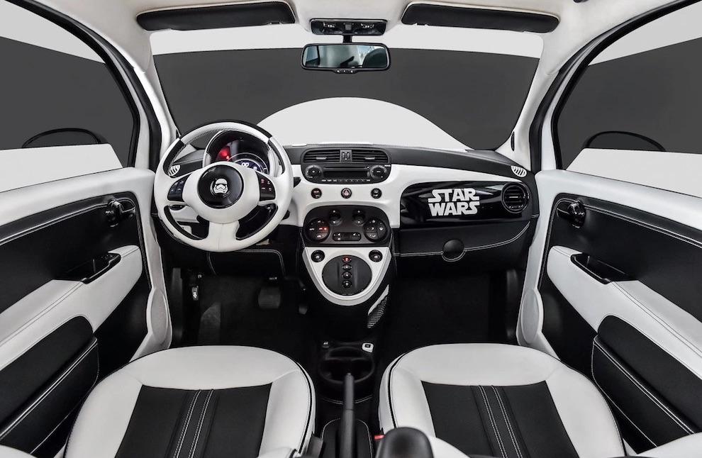 Une Fiat 500 en hommage à la saga Star Wars fiat-500-star-wars-2