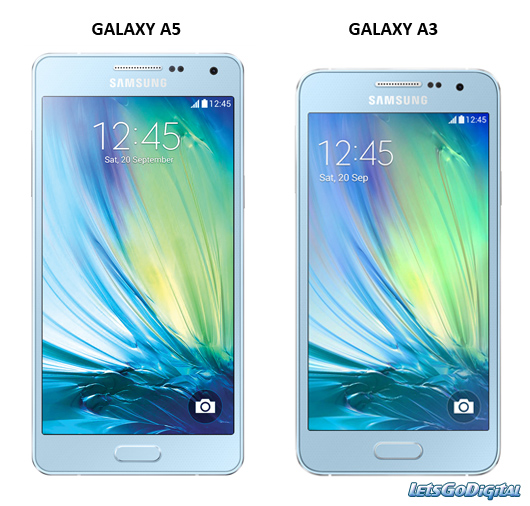 Samsung : premières caractéristiques des Galaxy A3 et A5 galaxy-a3-galaxy-a5