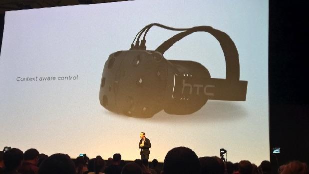 HTC Vive : Le casque virtuel sortira en avril prochain htc_vive
