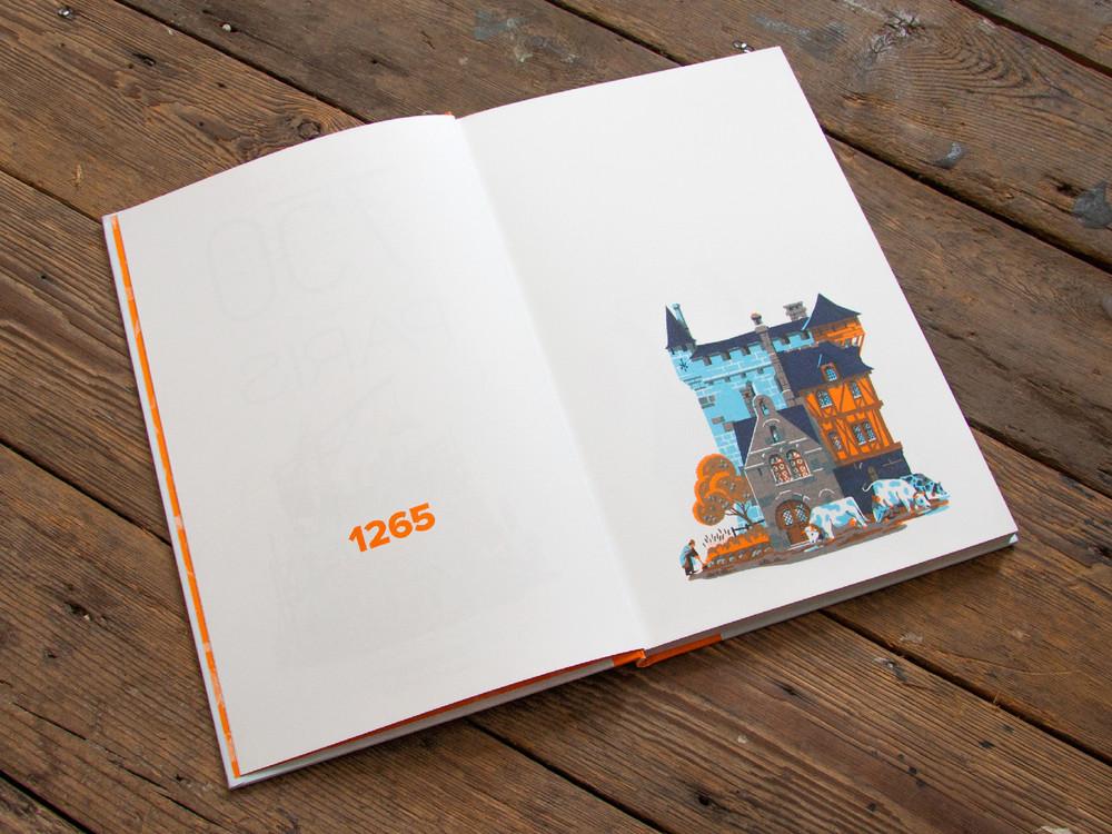 L'évolution de l'architecture de Paris illustrée par le français Vincent Mahé illustrations-vincent-mahe-paris-2