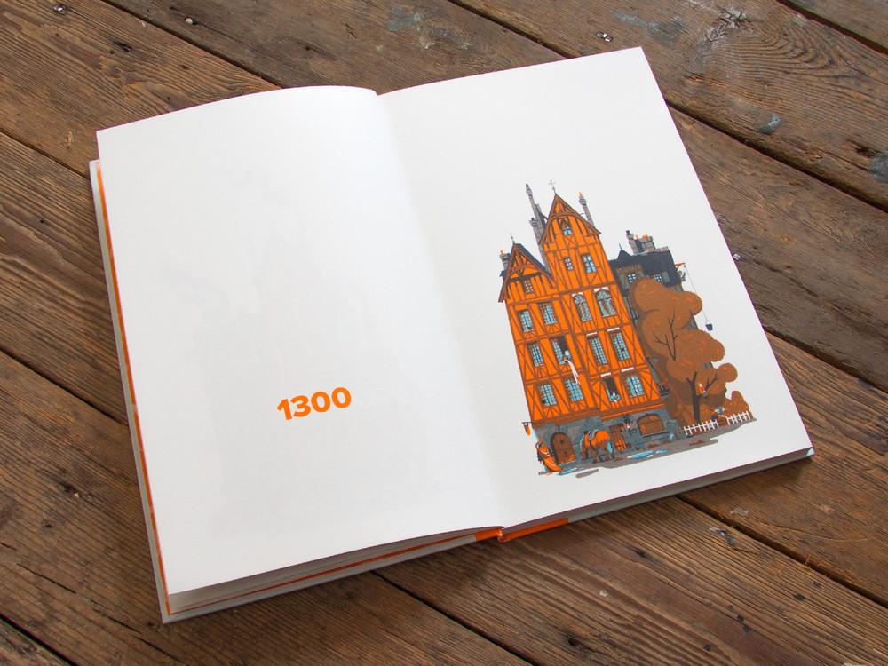 L'évolution de l'architecture de Paris illustrée par le français Vincent Mahé illustrations-vincent-mahe-paris-3