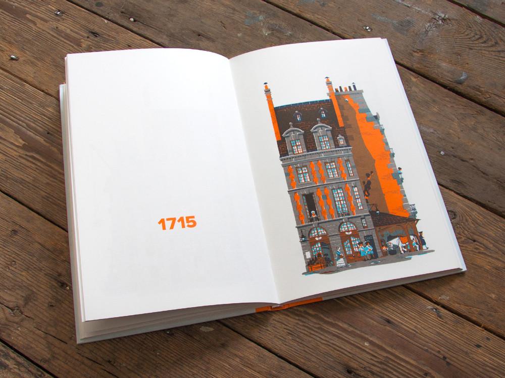 L'évolution de l'architecture de Paris illustrée par le français Vincent Mahé illustrations-vincent-mahe-paris-4