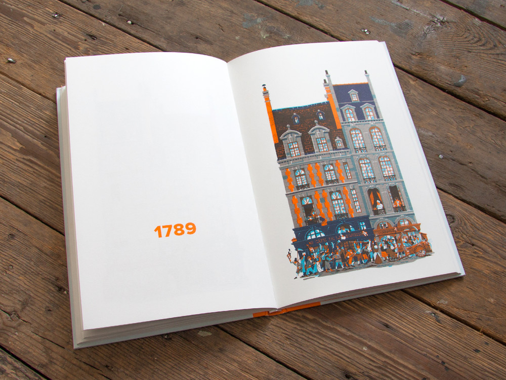 L'évolution de l'architecture de Paris illustrée par le français Vincent Mahé illustrations-vincent-mahe-paris-5