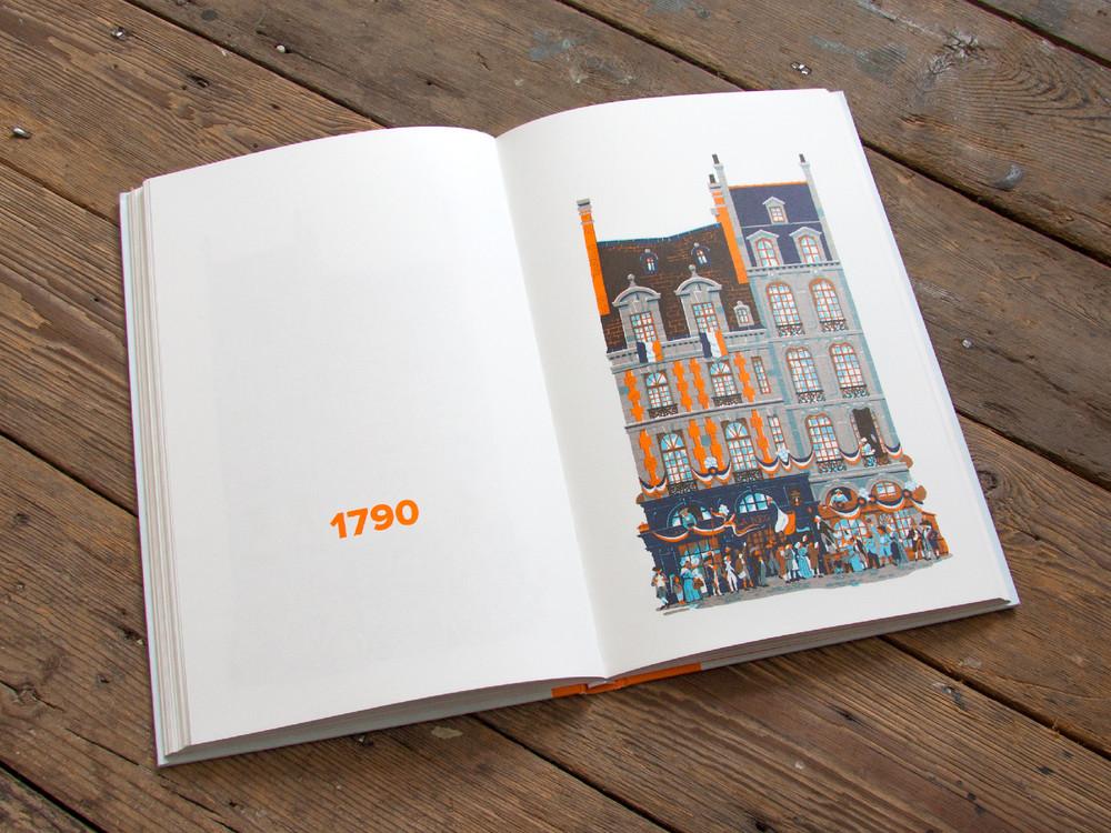 L'évolution de l'architecture de Paris illustrée par le français Vincent Mahé illustrations-vincent-mahe-paris-6