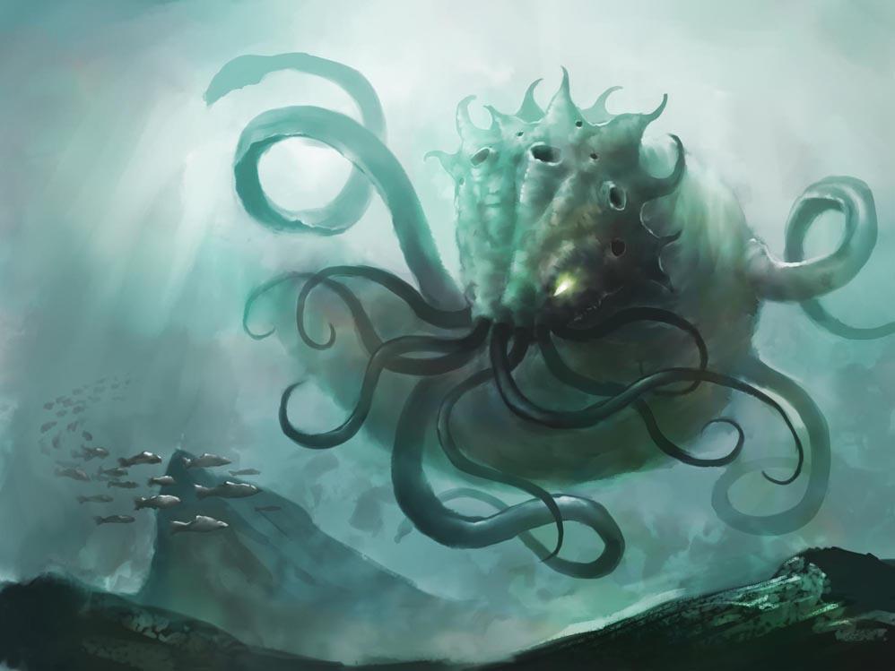 Un calamar géant a été aperçu au large du Japon kraken