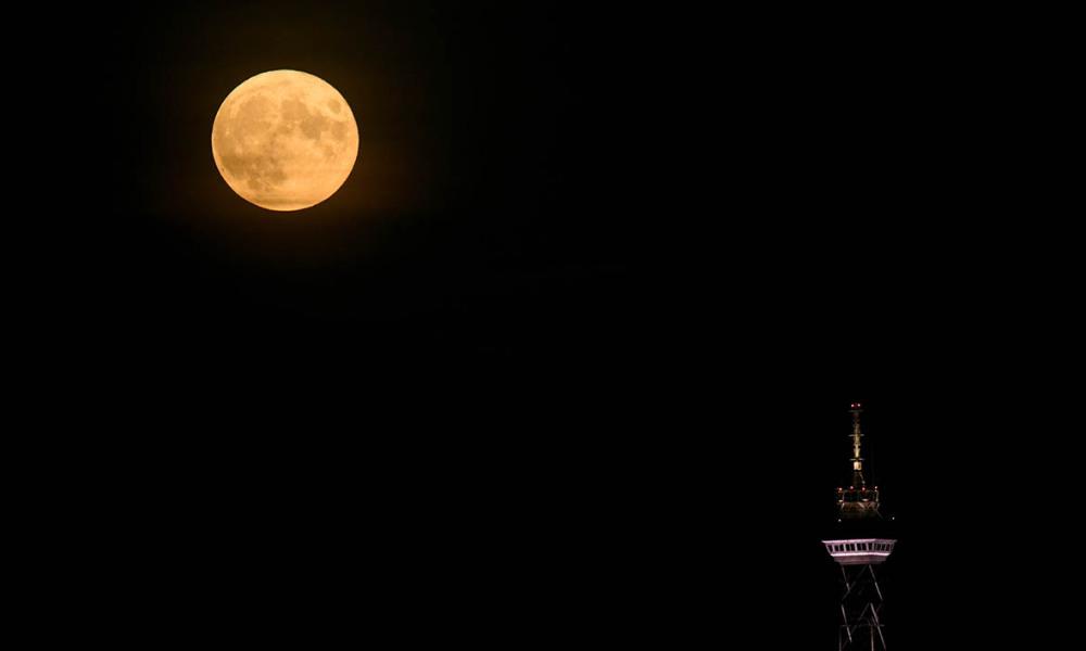 Avez-vous vu la pleine Lune de Noël ? lune