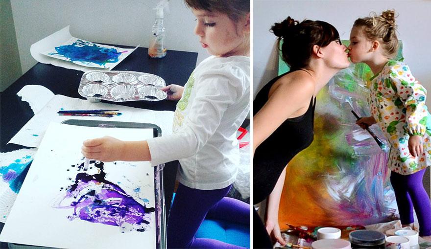 Une maman détourne les dessins de sa fille de 3 ans maman-detourne-dessins-fille-2