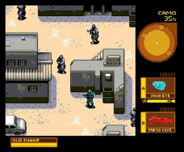 Petite introduction au rétrogaming... mgs4pixelart
