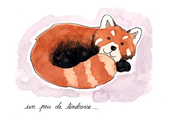 A la découverte de Manon Godard, une jeune illustratrice aux multiples talents petit-panda_manon-godard