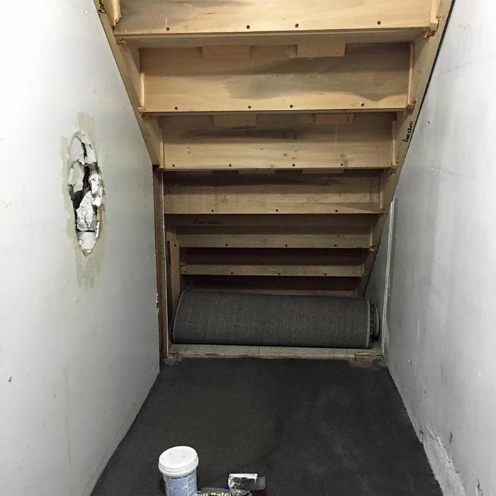Inspirée par l'univers d'Harry Potter, une mère transforme son placard sous l'escalier placard-escalier-harry-potter-2