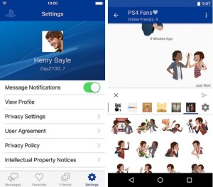 PlayStation Messages : Sony lance une appli mobile de messagerie pour PlayStation playstation_mobile2-300x263