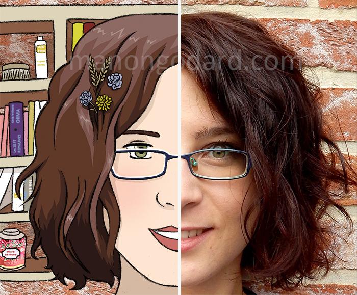 A la découverte de Manon Godard, une jeune illustratrice aux multiples talents portrait_avatar_blogueuse_chibi