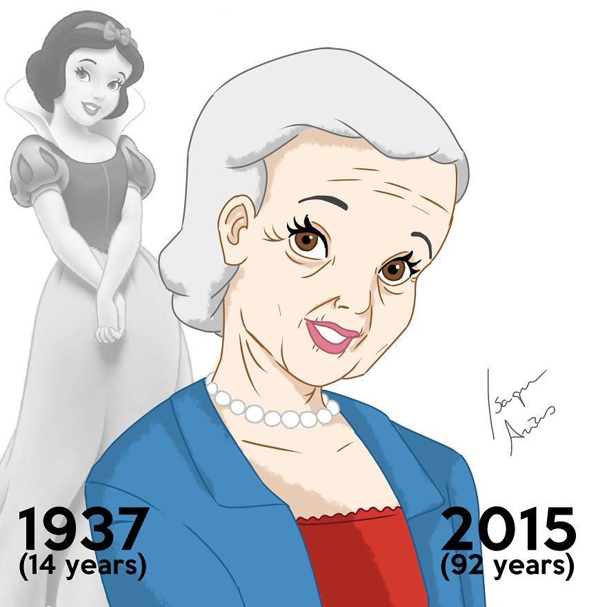 Si les PRINCESSES Disney pouvaient vieillir, à quoi ressembleraient-elles aujourd'hui ? princesse-disney-age-aujourdhui-1